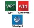 Excel Compatible Windows Forms, WPF and Silverlight Controls