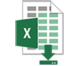 Download Excel Report Icon